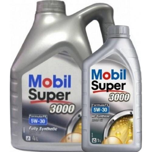 MOBIL SUPER 3000 X1 FORMULA FE 5W30 5L