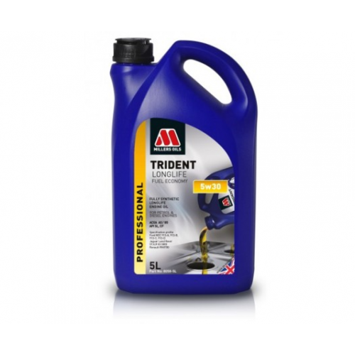 MILLERS OILS TRIDENT LONGLIFE FE 5W30 5L