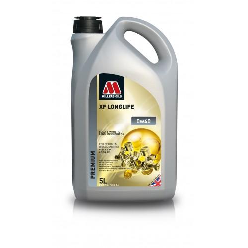 MILLERS OILS XF LONGLIFE 0W40 5L