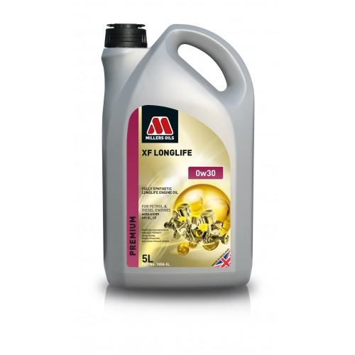 MILLERS OILS XF LONGLIFE 0W30 5L