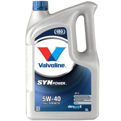 VALVOLINE SYNPOWER MST C3 5W40 5L